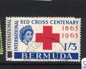 Bermuda Red Cross SG 181-2 VFU (6drw)