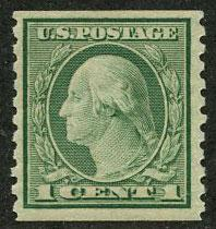 US Scott #490 Mint VF; Lightly Hinged