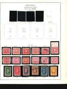 U.S. Revenue Stamps Mixed Lot