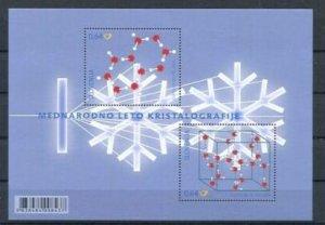Slovenia 2014 #1050 MNH. Crystallography