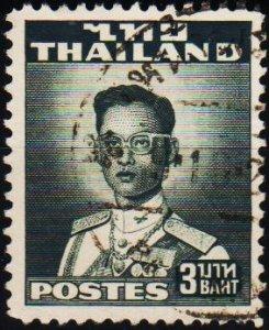 Thailand. 1951 3b S.G.346 Fine Used