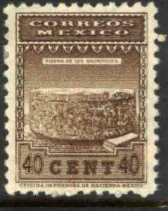 MEXICO 848, 40¢ 1934 Definitive Wmk Gobierno... (279). MINT, NH. F-VF.