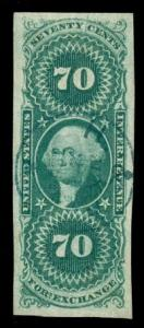 momen: US Stamps #R65a Revenue Used SUPERB PSE Cert