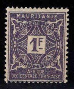 Mauritania Scott J16 MH* postage due