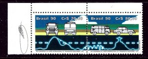 Brazil 2246a MNH 1990 Paor    (ap4166)