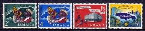 Jamaica - Scott #181-184 - MNH - Toning specks on gum - SCV $10