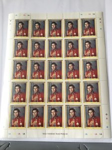 Barbuda Prince Charles full mint never hinged  stamps sheet ref R23566