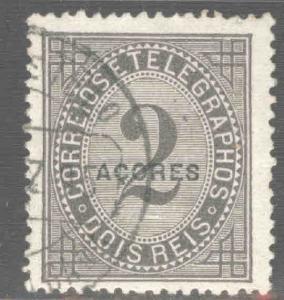 Azores Scott P3c Used  perf 13.5 Newspaper stamp