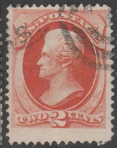 U.S. Scott #178 Jackson Stamp - Used Single