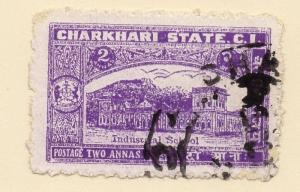 Indian States Charkhari 1940 Early Issue Fine Used 2a. 076054