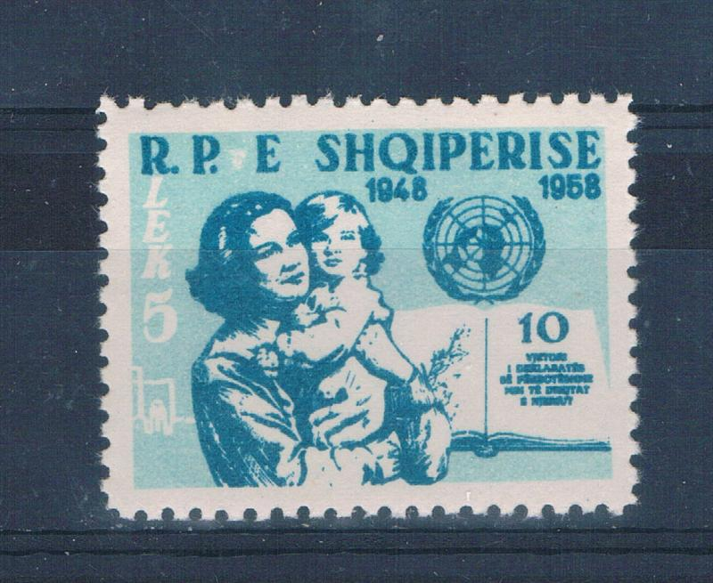 Albania 552 MNH Mother and Child UN (A0183)