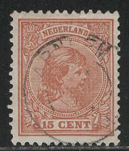 Netherlands Scott # 45a, used