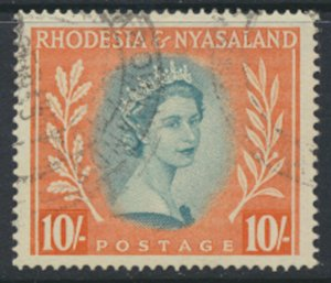 Rhodesia & Nyasaland SG 14 Sc# 154  Used  please see scans and details
