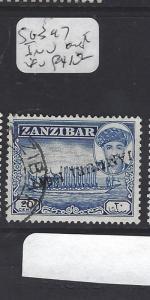 ZANZIBAR  (PP2909B) JAMHURI OVPT  20C  INV  OVPT     VFU