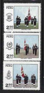 PERU 535-37 MOG FLAG Z1984