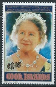 Cook Islands - Elizabeth II Birthday - Stamp, Scott #1040 3L-016
