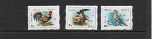 BIRDS - IRAN #1586-1588