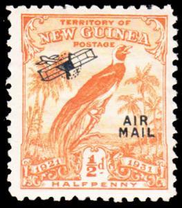 New Guinea Scott C14 Mint never hinged.