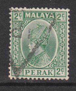 Malaya Perak 1935 Sc 70 2c green Used