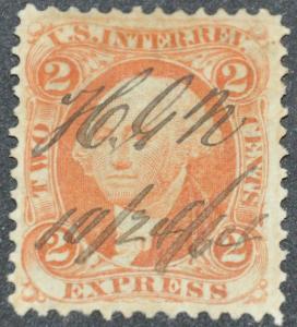 DYNAMITE Stamps: US REVENUE Scott #R10c
