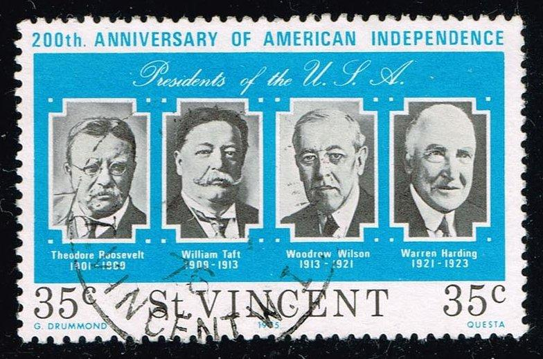 St. Vincent #441 U.S. Presidents; Used (0.25)