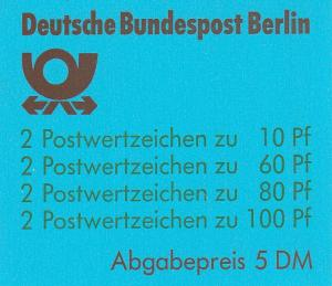 Germany #9N553a Complete Booklet CV $45.00