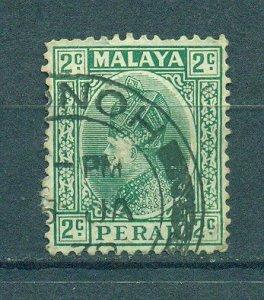 Malaya - Perak sc# 70 (2) used cat value $.25