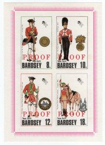 (I.B) Cinderella Collection : Bardsey Island (Proof Sheet)