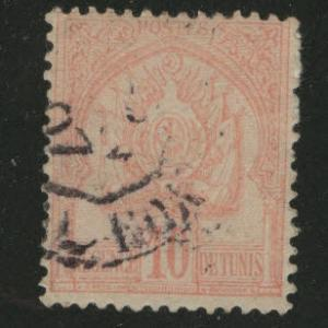 Tunis Tunisia Scott 14 used stamp