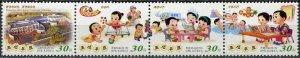 Korea 2015. Completion of a children's home (MNH OG) Block of 4 stamps