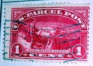 United States Parcel Post #1 Used.