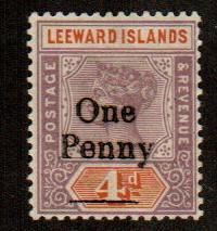 Leeward Islands #17  MNH  Scott $
