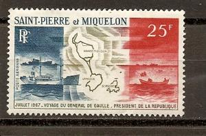 St. Pierre and  Miquelon C35 MNH