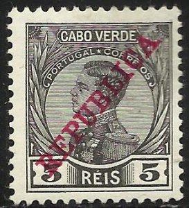 Cape Verde 1912 Scott# 101 MH