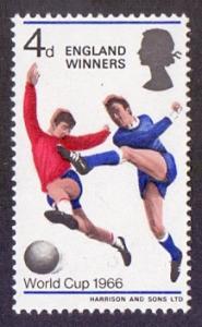 Great Britain 1966 MNH  world cup football England winner