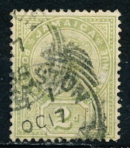 Jamaica #25a Single Used