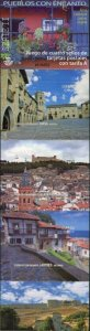 HERRICKSTAMP NEW ISSUES SPAIN Sc.# 4187 Towns Part II Self-Adh. Booklet