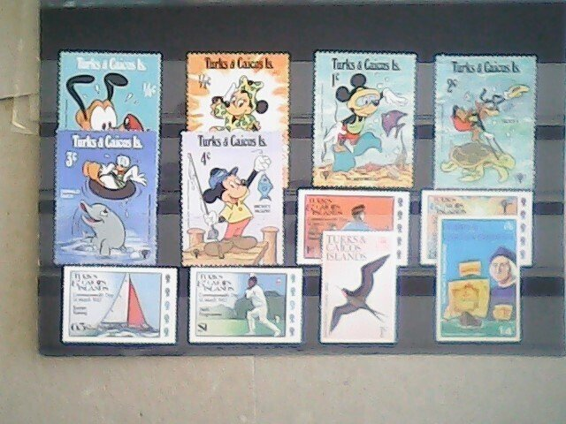 Turks and Caicos Islands  MNH  nice lot of stamps