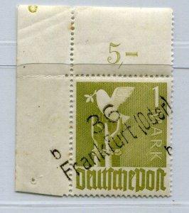 GERMANY SOVIET ZONE HOP BEZIRKSHANDSTEMPEL BEZIRK 36 II a VII MNH 038