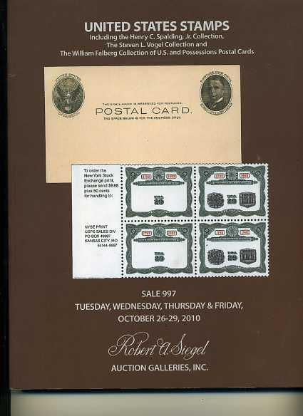 Siegel sale featuring Post Card Collection