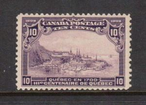 Canada #101 VF/NH **With Certificate**