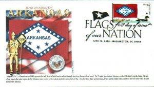 Panda 4278 FOON Arkansas Flag