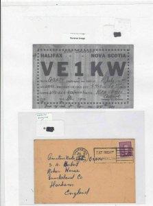 halifax nova scotia 1950 health slogan stamps cover Ref 9666