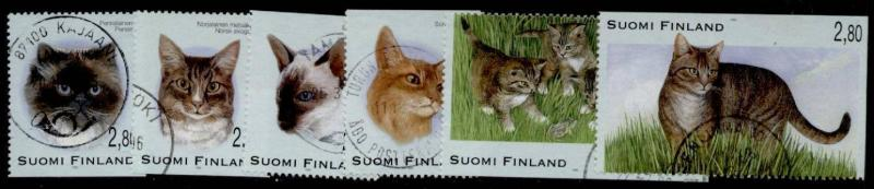 Finland 972-7 used - Cats