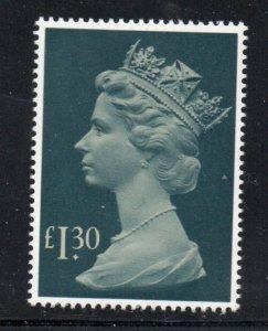 Great Britain Sc MH170 1983 £1.30 Machin Head stamp mint NH