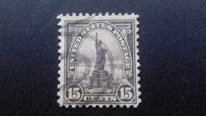 United States 1922 Statue of Liberty Used