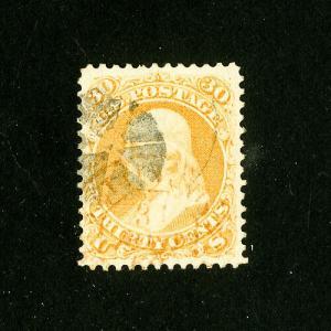 US Stamps # 71 Supurb Fresh Used Scott Value $200.00