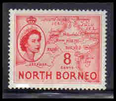 North Borneo Very Fine MLH ZA5648