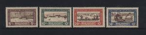 Liechtenstein #B7 - #B10 VF Mint