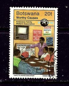 Botswana 606 Used 1996 issue